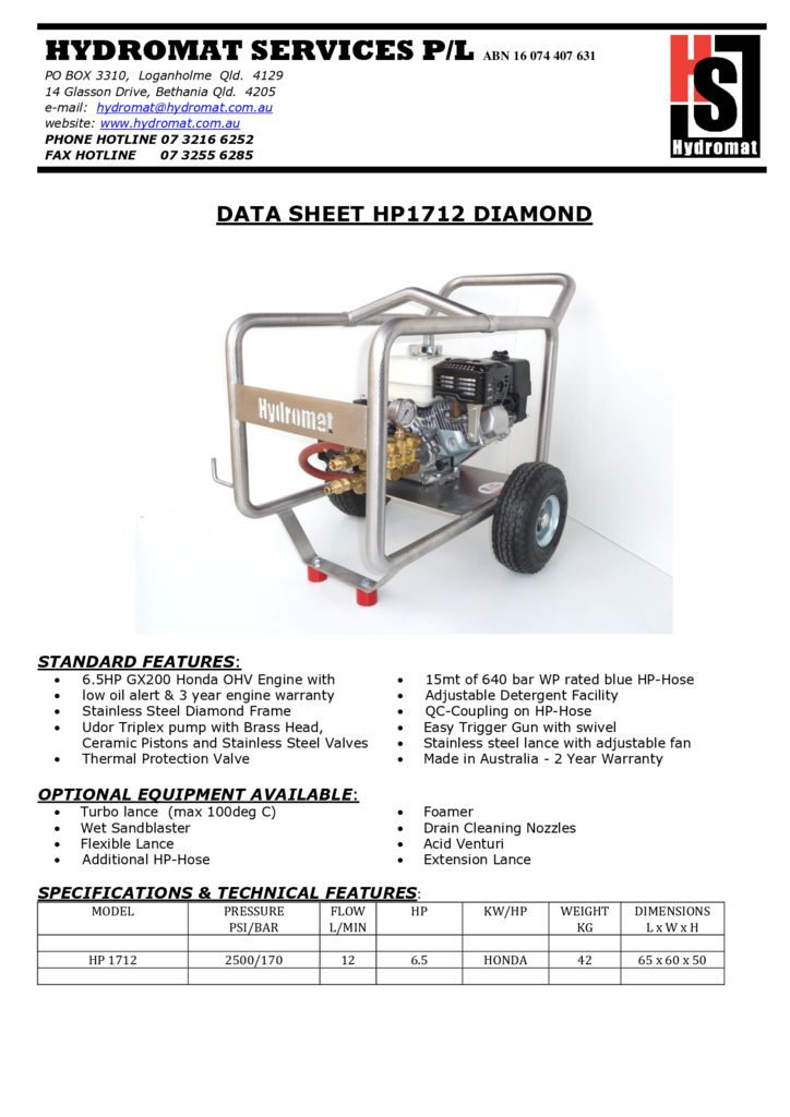 thumbnail of HP 1712 DIAMOND