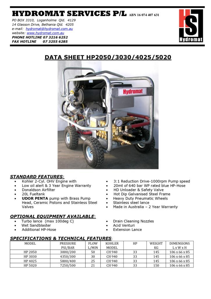 thumbnail of HP 2050-3030-4025-5020
