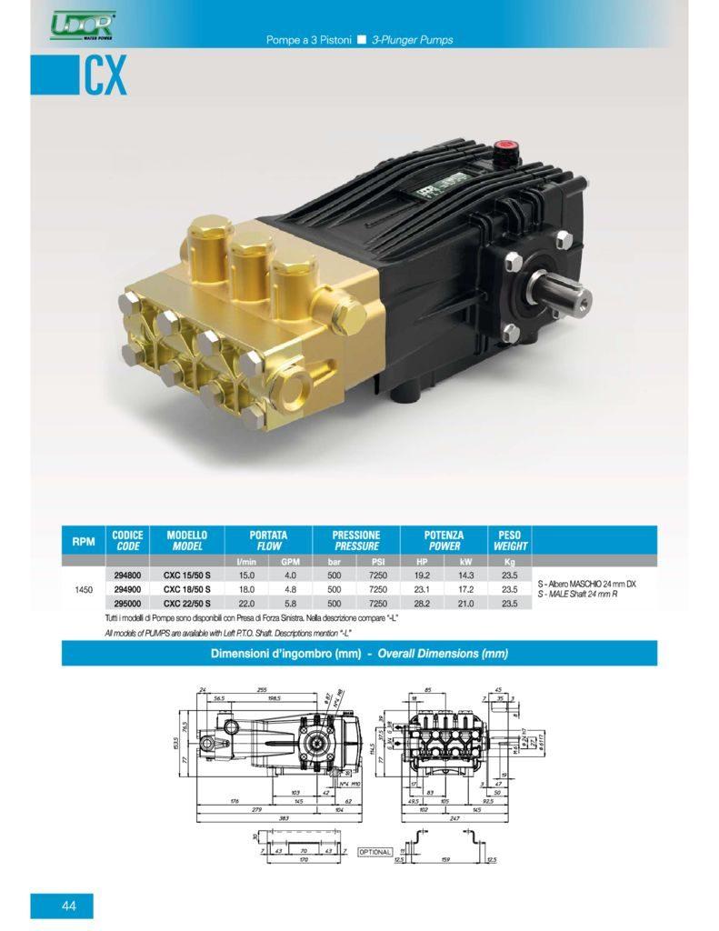 thumbnail of Udor CXC Pumps