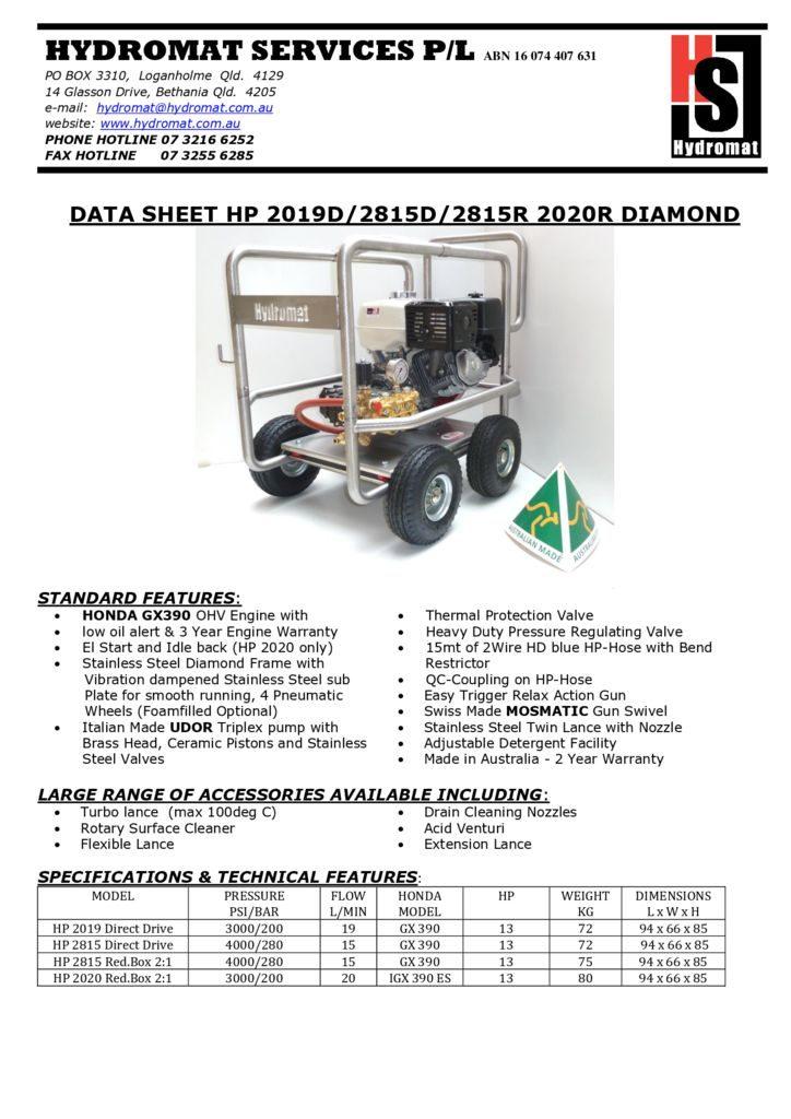 thumbnail of HP 2019-2815D-2815R-2020R Diamond